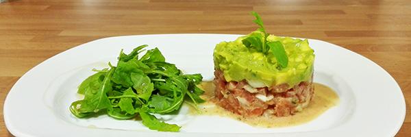 Tartar De Tomate Y Guacamole