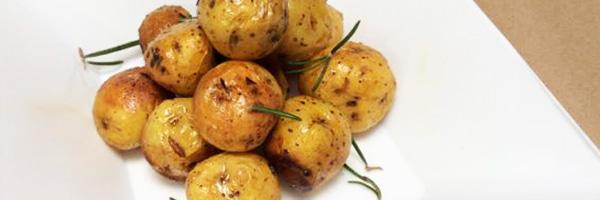 Patatas De Guarnición Al Microondas
