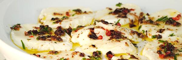 Mozzarella Con Gremolata
