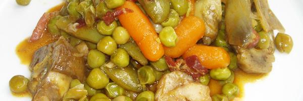 Menestra De Verduras Con Carne